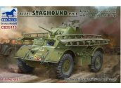 Bronco 1/35 35115BF T17E1 Staghound w/ Bridge