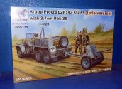 Bronco 1/35 35138 Krupp Protze L 2 H 143 Kfz.69 (Late) with 3.7cm Pak 36