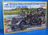 Bronco 1/35 35175 German Horch Staff Car (Kfz 12) Early Version