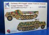 Bronco 1/35 35214 German sWS Supply Ammo Vehicle & Armored Cargo Version (2in1)