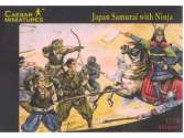 Caesar Miniatures 1/72 003 Japan Samurai with Ninja