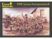 Caesar Miniatures 1/72 053 WWII German Panzergrenadiers 2