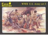 Caesar Miniatures 1/72 054 WWII US Army