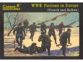 Caesar Miniatures 1/72 056 WWII European partisans. France / Balkans