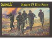 Caesar Miniatures 1/72 058 Modern US Elite Force