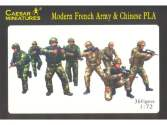 Caesar Miniatures 1/72 059 Modern French Army with Chinese PLA