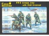 Caesar Miniatures 1/72 069 WWII German Army with Field Greatcoat