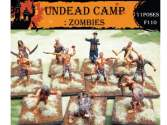 Caesar Miniatures 1/72 110 Undead Camp Zombies