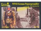 Caesar Miniatures 1/72 7714 WWII German Panzergrenadiers in Winter Greatcoat Eastern Front