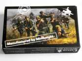 Caesar Miniatures 1/72 B07 German (WWII) Army Combat Team 2