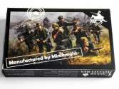 Caesar Miniatures 1/72 B08 German (WWII) Army Sturmpioniere Team