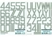"Colorado Decals 1/32 3205 Codes RAF ""grey"" 48"" Bombers 1936-1947- 2nd Part - 2 Decals"