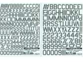 Colorado Decals 1/72 7266 Low Visibility Codes 45º - 2nd Part - 2 Decals