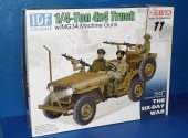 Dragon 1/35 3609 IDF 1/4 Ton 4x4 Truck w/ MG34 Guns (Damaged Box)