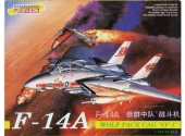 Dragon 1/144 4552 F-14A Tomcat Wolf Pack