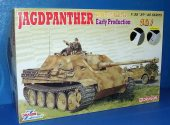 Dragon 1/35 6758 Jagdpanther Ausf.G1 Early w/ Zimmerit
