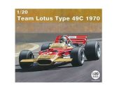 Ebbro 1/20 006 Team Lotus Type 49C 1970