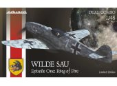 Eduard 1/48 11140 Bf 109G-5/6 Wilde Sau Episode One Ring of Fire Dual Combo