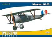 Eduard 1/72 7417 Nieuport Ni-23 - Weekend Edition