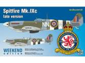 Eduard 1/72 7431 Spitfire Mk. IXc late version - Weekend Edition