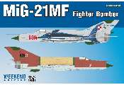 Eduard 1/72 7451 MiG-21MF Fighter-Bomber - Weekend Edition