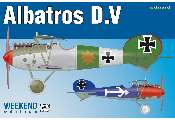 Eduard 1/48 8408 Albatros D. V - Weekend Edition