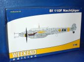 Eduard 1/48 84145 Bf 110F Nachtjäger - Weekend Edition