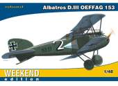 Eduard 1/48 84150 Albatros D. III OEFFAG 153 - Weekend Edition