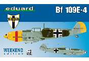 Eduard 1/48 84153 Bf 109E-4 - Weekend Edition