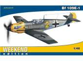 Eduard 1/48 84164 Bf 109E-1 - The Weekend edition