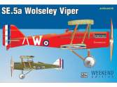 Eduard 1/48 8454 SE.5a Wolseley Viper - Weekend Edition