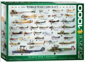 Eurographics - 60000087 1000 Piece Jigsaw Puzzle -  WWI Aircraft