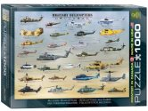 Eurographics - 60000088 1000 Piece Jigsaw Puzzle - Military Helicopters