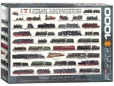 Eurographics - 60000090 1000 Piece Jigsaw Puzzle - Steam Locomotives