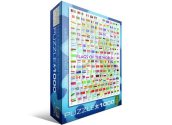 Eurographics - 60000128 1000 Piece Jigsaw Puzzle - Flags of the World