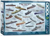 Eurographics - 60000133 1000 Piece Jigsaw Puzzle - WWII Warships