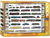 Eurographics - 60000251 1000 Piece Jigsaw Puzzle - History of Trains