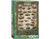 Eurographics - 60000381 1000 Piece Jigsaw Puzzle - History of Tanks