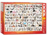 Eurographics - 60000580 1000 Piece Jigsaw Puzzle - World of Cats