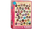 Eurographics - 60000587 1000 Piece Jigsaw Puzzle - Chocolate Cupcakes