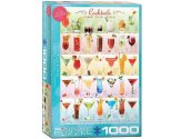 Eurographics - 60000588 1000 Piece Jigsaw Puzzle - Cocktails