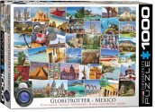 Eurographics - 60000767 1000 Piece Jigsaw Puzzle - Globetrotter Mexico