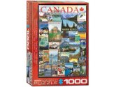 Eurographics - 60000778 1000 Piece Jigsaw Puzzle - Travel Canada Vintage Ads