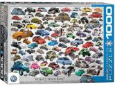 Eurographics - 60000815 1000 Piece Jigsaw Puzzle - VW Beetle Whats Your Bug