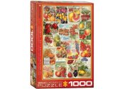 Eurographics - 60000818 1000 Piece Jigsaw Puzzle - Fruits Seed Catalogue