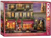 Eurographics - 60000963 1000 Piece Jigsaw Puzzle - The Red Hat Restaurant Paris
