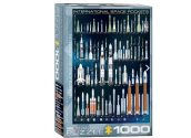 Eurographics - 60001015 1000 Piece Jigsaw Puzzle - International Space Rockets
