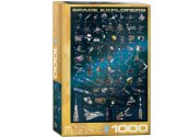 Eurographics - 60002001 1000 Piece Jigsaw Puzzle - Space Explorers