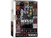 Eurographics - 60005305 1000 Piece Jigsaw Puzzle - KISS The Albumns