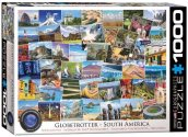 Eurographics - 60005463 1000 Piece Jigsaw Puzzle - Globetrotter South America